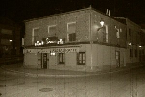 Entrada antigua restaurante la casica