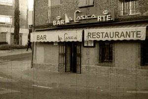 Fachada antigua restaurante la casica