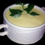 Crema de calabacin natural